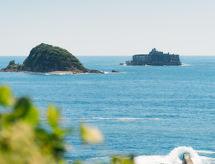 軍艦島の見える丘