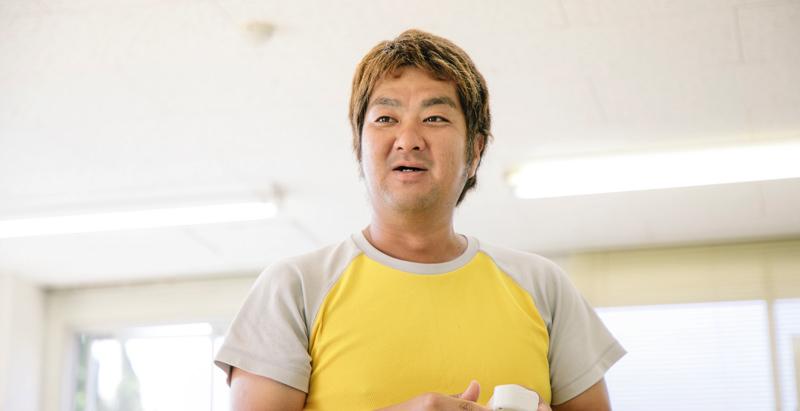 中堅スタッフの杉本さん